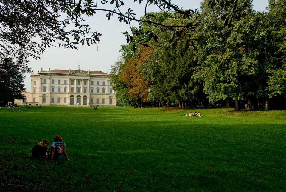 Il parco comunale di desio grandi giardini italiani for Programma progettazione giardini